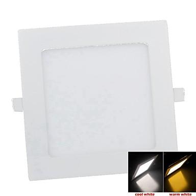 SENCART 550-650lm Tavan Işıkları Gömme Uyumlu 45PCS LED Boncuklar SMD 2835 Dekorotif Sıcak Beyaz 85-265V / FCC