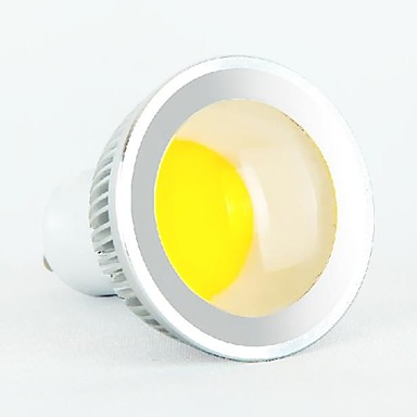 GU10 LED 스팟 조명 MR16 1 COB 350-400 lm 차가운 화이트 AC 85-265 V