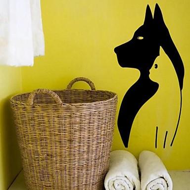 Животные Мультипликация Натюрморт Мода Геометрия абстракция фантазия Наклейки Простые наклейки Декоративные наклейки на стены материал