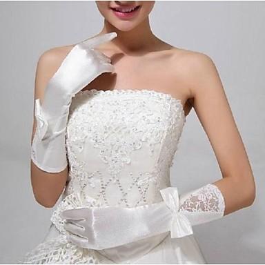 ellebooglengte feesthandschoen bruids handschoenen elegante klassieke stijl