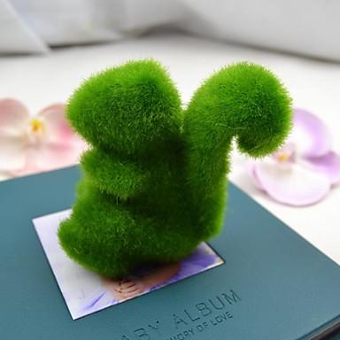 aranyos zöld műfüves mókus autó és lakberendezési