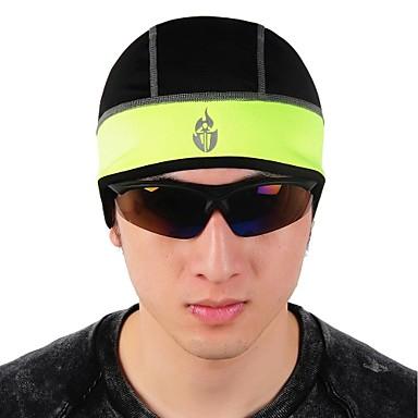 WOLFBIKE Επένδυση κράνους Σκουφάκι/Καπέλο ποδηλασίας Headsweat Καπέλο Χειμώνας Φθινόπωρο Διατηρείτε Ζεστό Αντιανεμικό Με προστασία από
