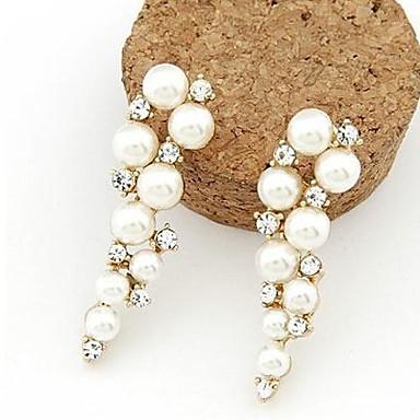 Masoo Women's Hot Selling Pearl Diamond Earrings