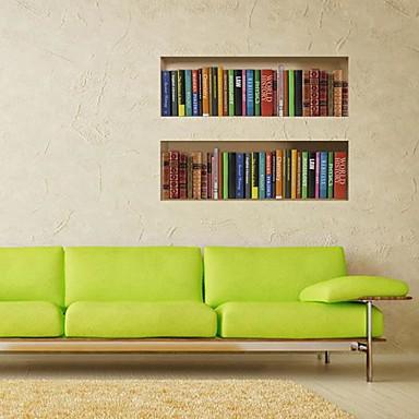 Dekorative Mur Klistermærker - 3D Mur Klistremerker 3D Stue / Soverom / Spisestue