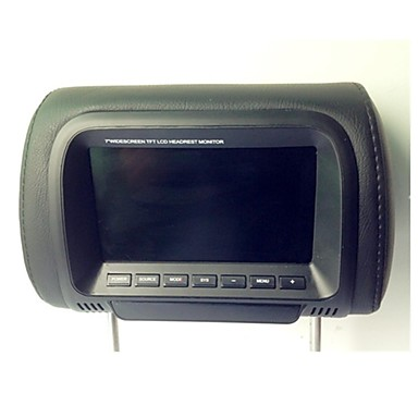 7 Inch LCD Display Digital Screen Car Headrest Monitor Car DVD Players