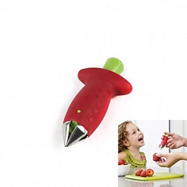 1 parça Çilek Çarpma ve Grater For Meyve Naylon Yaratıcı Mutfak Gadget Yenilikçi