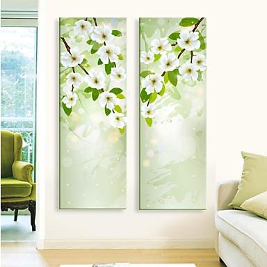 Картины с LED подсветкой ботанический 2 панели С картинкой Декор стены Украшение дома