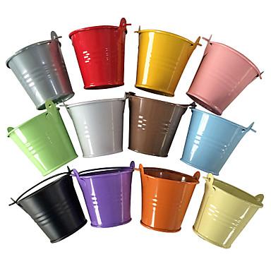 Basket Plastic Favor Holder with Favor Boxes - 12
