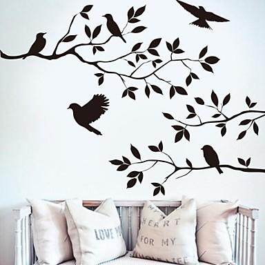 Наклейки Наклейки для животных Декоративные наклейки на стены, Винил Украшение дома Наклейка на стену Стена