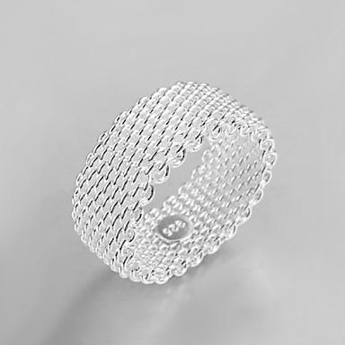 voordelige Dames Sieraden-Dames Bandring Kristal Zilver Sterling zilver Zilver Dames Tupsu Vintage Bruiloft Feest Sieraden Schattig
