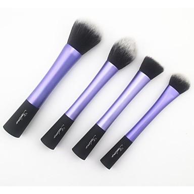 4pcs Επαγγελματίας Μακιγιάζ Βούρτσες Σετ Βούρτσα Συνθετική Τρίχα Τσάντες / 4 * Brush Brush / Πρόσωπο