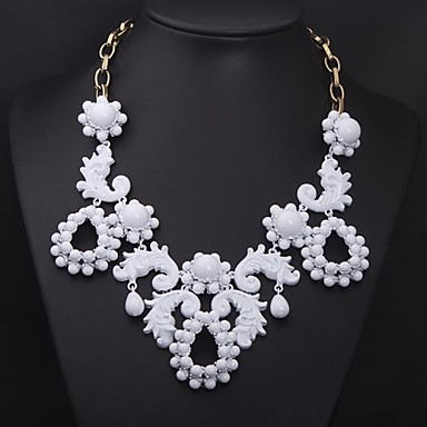 Women's Colorful  Europe and  Big Exaggerated Costly Fashion Necklace