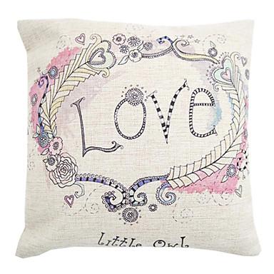 1 pcs coton lin coussin avec rembourrage housse de coussin fleur rustique de 1800269 2018. Black Bedroom Furniture Sets. Home Design Ideas