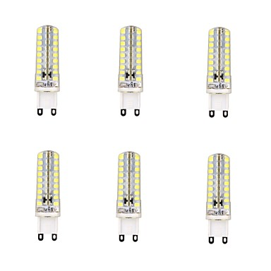 4W G9 LED Corn Lights 72 LEDs SMD 2835 Dimmable Warm White Cold White 350-400lm 6000-6500K AC 220-240V