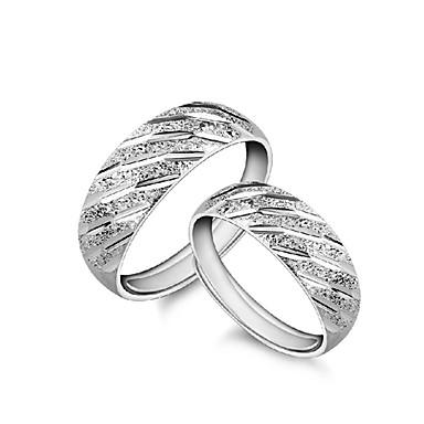 Γυναικεία Εντυπωσιακά Δαχτυλίδια Προσαρμόσιμη Ασήμι Στερλίνας Κοσμήματα Για Πάρτι