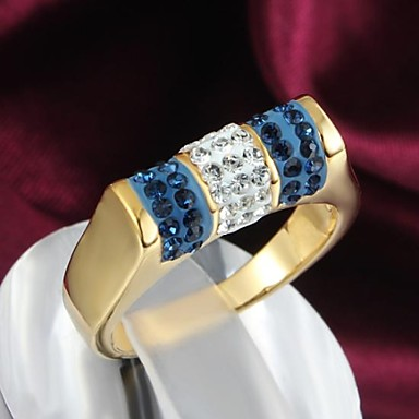 Women's Statement Ring - Alloy Fashion 6 / 7 / 8 For Daily / Casual / Zircon