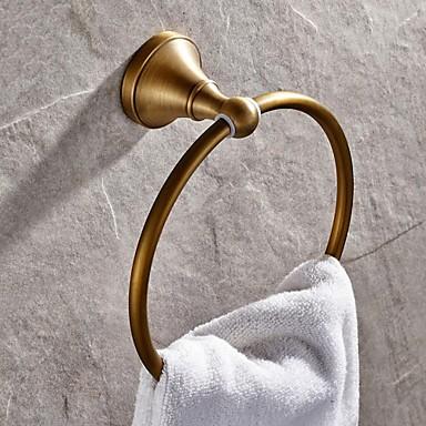 Havlu Çubuğu Yüksek kalite Antik Pirinç 1 parça - Otel banyo havlu halkası