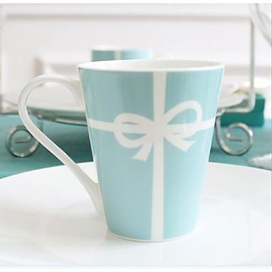 Tiffany  Creative The Wedding Gift Cup  milk Cup Coffee Cup Spoon Cup  Coffee  Bone China 3.4