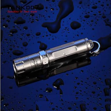 ES12 LED Taschenlampen / Hand Taschenlampen LED 120lm 3 Beleuchtungsmodus Stoßfest / Wasserfest / Super Leicht Für den täglichen Einsatz
