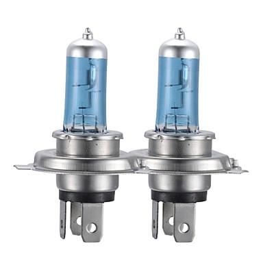 h4 100w süper beyaz otomobiller için xenon far halojen ampul sakladı (DC 12V / çift)
