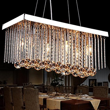 Traditional/Classic Modern/Contemporary Crystal Chandelier Downlight For Living Room Bedroom Dining Room Study Room/Office Kids Room