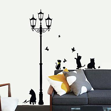 Dieren Muurstickers Vliegtuig Muurstickers Decoratieve Muurstickers Materiaal Verstelbaar Huisdecoratie Muursticker