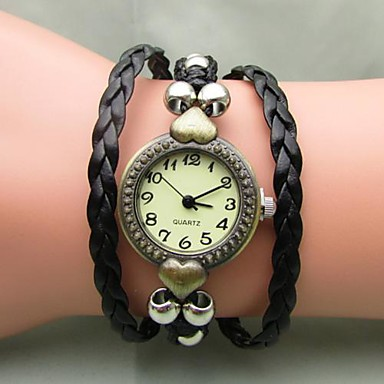 Women's Retro Bohemian Weave Auartz Watch