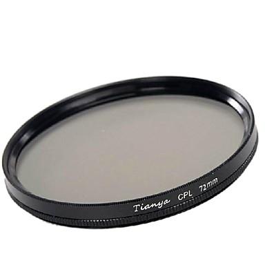 TIANYA 72mm CPL Circular Polarizer Filter for Canon 15-85 18-200 17-50 28-135mm Lens