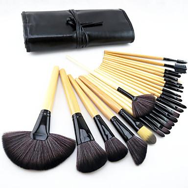 ensembles de brosses Cheval Poil Synthétique Pinceau en Poils de Poney Haute qualité Œil Visage Rouge à lèvres Sourcil Eyeliner Mascara