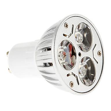 billige Elpærer-LED-spotpærer 15-20/30-35 lm GU10 3 LED perler Rød Blå 85-265 V / 1 stk.
