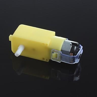 dc3v-6v dc getriebemotor tt motor smart auto roboter getriebemotor für arduino