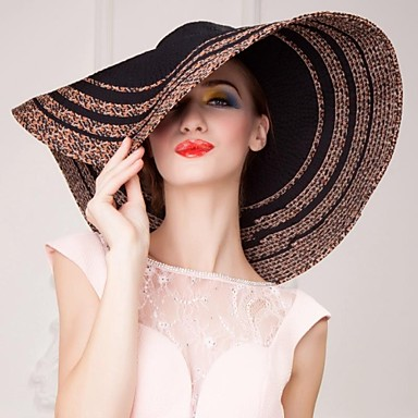 Basketwork / Crystal / Fabric Tiaras / Hats 1 Wedding / Party / Evening / Casual Headpiece