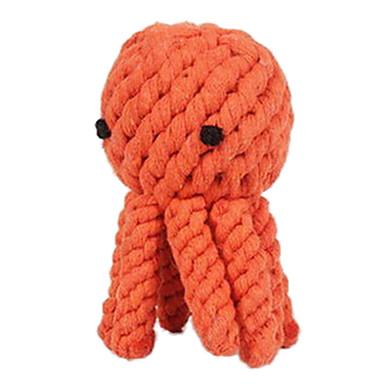 Hondenspeeltje Huisdierspeeltjes kauwspeeltjes Touw Octopus Textiel