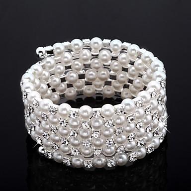 Dames Kubieke Zirkonia 1 - Klassiek Armbanden Voor Bruiloft Feest Vuosipäivä