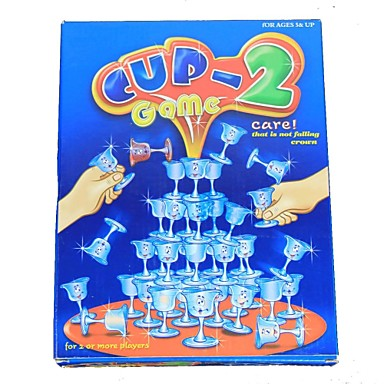 Goblet Cup Stack Game Toy  (56 PCS)