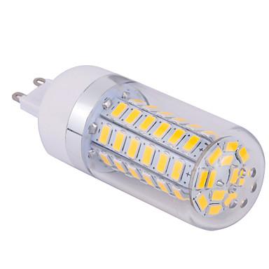 15W G9 LED-kornpærer T 60 SMD 5730 1500 lm Varm hvit / Kjølig hvit AC 85-265 V 1 stk.