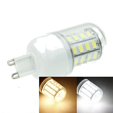 g9 led corn lights t 40 smd 5630 1200-1600lm meleg fehér hideg fehér 3000-3500k 6000-6500k dekoratív ac 220-240v