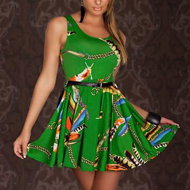 Στολές Ηρώων Στολές Γιορτές/Διακοπές Κοστούμια Halloween Πράσινο / Μπλε Φόρεμα Τερυλίνη