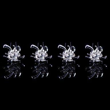 Женский Для девочек Сплав металлов Заставка-Свадьба Особые случаи Для деловой одежды на открытом воздухе Шпилька