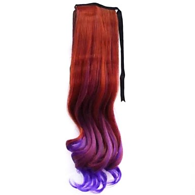 povoljno Perike i ekstenzije-1pcs modni lijepa djevojka visoka kvaliteta kose rep 3 boje po izboru
