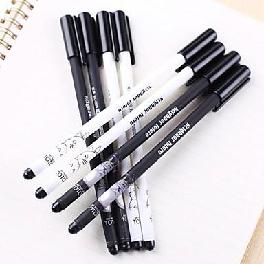 тороновая черная ручка с черным чернилом (случайный цвет 1 шт.) для школы / офиса