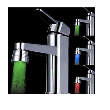 Współczesny Oświetlenie kranu Plastik Cecha - LED, shower Head