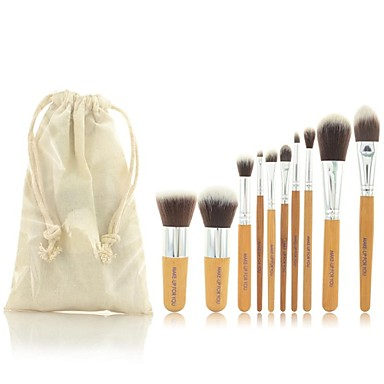 10 Brush Sets Synthetisch haar Beperkt bacterieën MAKE-UP FOR YOU