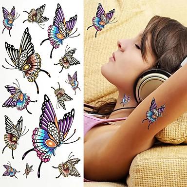 1 pcs Temporary Tattoos Eco-friendly / Disposable brachium / Shoulder / Back Water-Transfer Sticker Tattoo Stickers