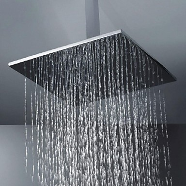 Contemporary Rain Shower Brushed Feature-Rainfall , Shower Head
