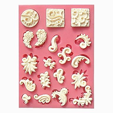Bakeware eszközök Szilikon Környezetbarát / Szabadság Torta / Keksz / Csokoládé sütőformát 1db