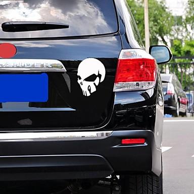αυτοκόλλητα αυτοκινήτων με διάβολος κρανίο στυλ αυτοκίνητο