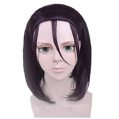 Party Wig - Kobieta - Prosto - Czarny - Syntetyczny