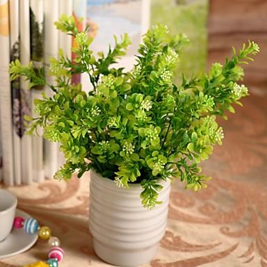 Une succursale Plastique Plantes Fleur de Table Fleurs artificielles