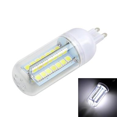 G9 LED-maïslampen T 56 LEDs SMD 5050 Warm wit Koel wit 3000/6500lm 3000/6500KK AC 220-240V
